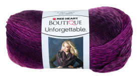 Red Heart - Boutique Unforgettable, Petunia