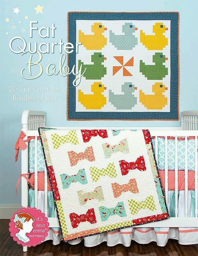 Fat Quarter Baby Book - It's Sew Emma
