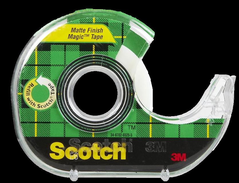 Scotch Magic Tape with dispenser - 19mm x 21.5m