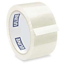 "Packing tape -  2"" x 55 yards, 2 mil, Clear"