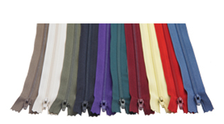 "Zipper - #3 coil, 7"" - various colours available"