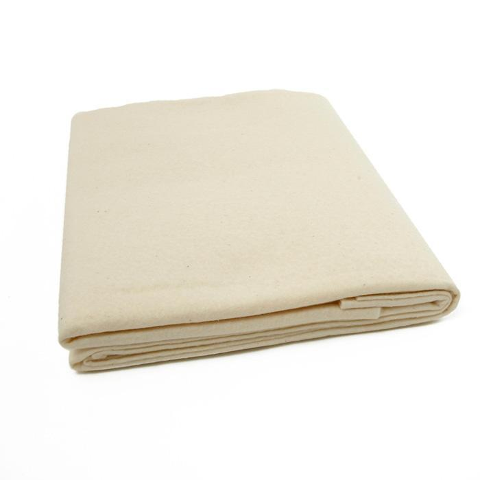 "Batting - Unbleached Cotton - 62"" (per yard)"