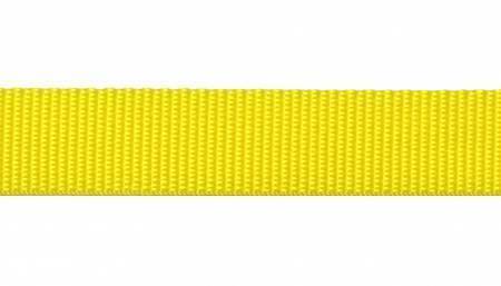 "Webbing, Polypropylene, 1"" - Yellow (per yard)"