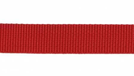"Webbing, Polypropylene, 1"" - Red (per yard)"