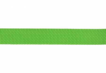 "Webbing, Polypropylene, 1"" - Lime (per yard)"
