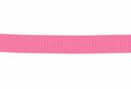 """Webbing, Polypropylene, 1"""" - Pink (per yard)"""