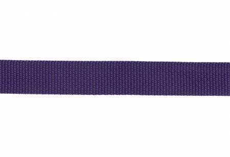"Webbing, Polypropylene, 1"" - Purple (per yard)"