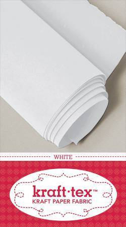 "Kraft-Tex - White - 19"" x 1.5 yds"