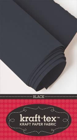 "Kraft-Tex - Black - 19"" x 1.5 yds"