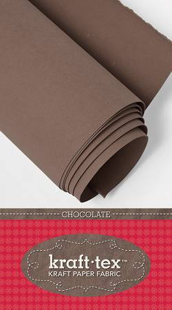 "Kraft-Tex - Chocolate - 19"" x 1.5 yds"