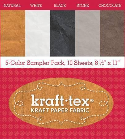 Kraft-Tex - 10 sheet sampler