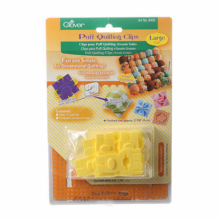 Puff Quilting Clips - Large