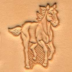 Running Horse Craftool 3-D Stamp