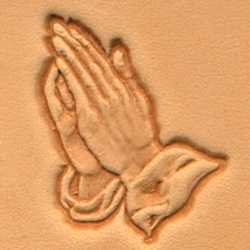 Praying Hands Craftool 3-D Stamp