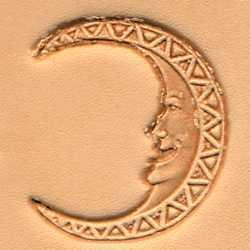 Moon Face Craftool 3-D Stamp