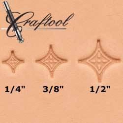 Craftool Dots Geometric 3-pc Stamp Set