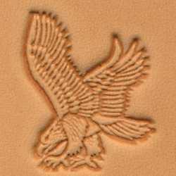Eagle Craftool 3-D Stamp (Left)