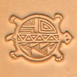 Round Turtle Craftool 3-D Stamp