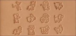 Cartoon Animal Stamp Set