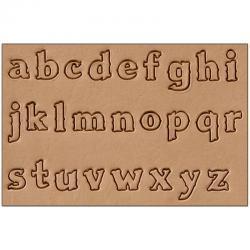 "Craftool 1/2"" (13 mm) Lower Case Alphabet Set"