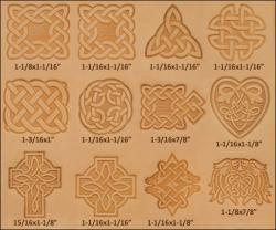Craftool Celtic 3-D Stamp Set