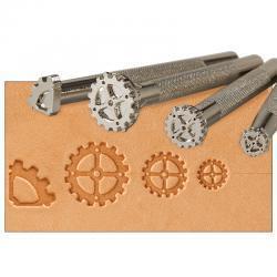 Steampunk Gear 4-Piece Leathercraft Tool Set