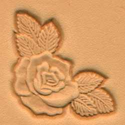Rose Corner Craftool 3-D Stamp