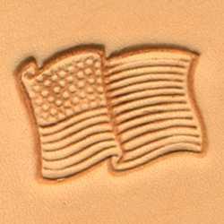 USA Flag Craftool 3-D Stamp
