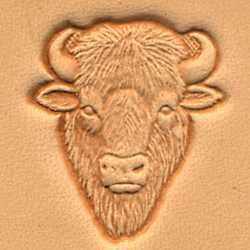 Buffalo Head Craftool 3-D Stamp