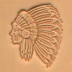 Indian Chief Craftool 3-D Stamp