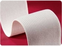 "Knitted Elastic, 3"" (75mm) - White"