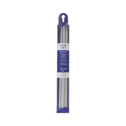 Double Point Needles - 5pc - 4.5mm / US7 (20cm) - Unique