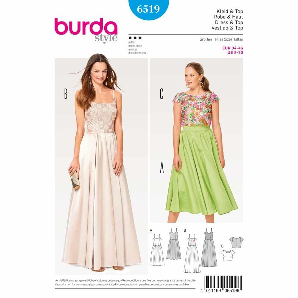Ladies, Dress - Burda 6519