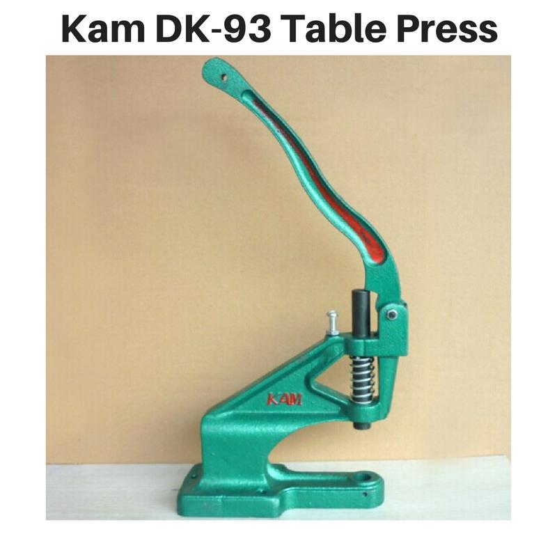 Kam Snap Table Press - DK93