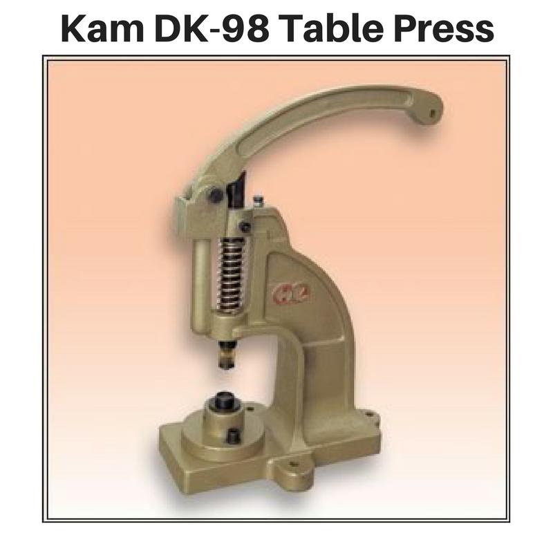 Kam Snap Table Press - DK98 (preorder)