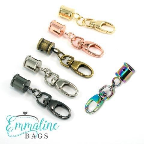 Hanging Tassel Cap - Emmaline Bags (choose your finish)