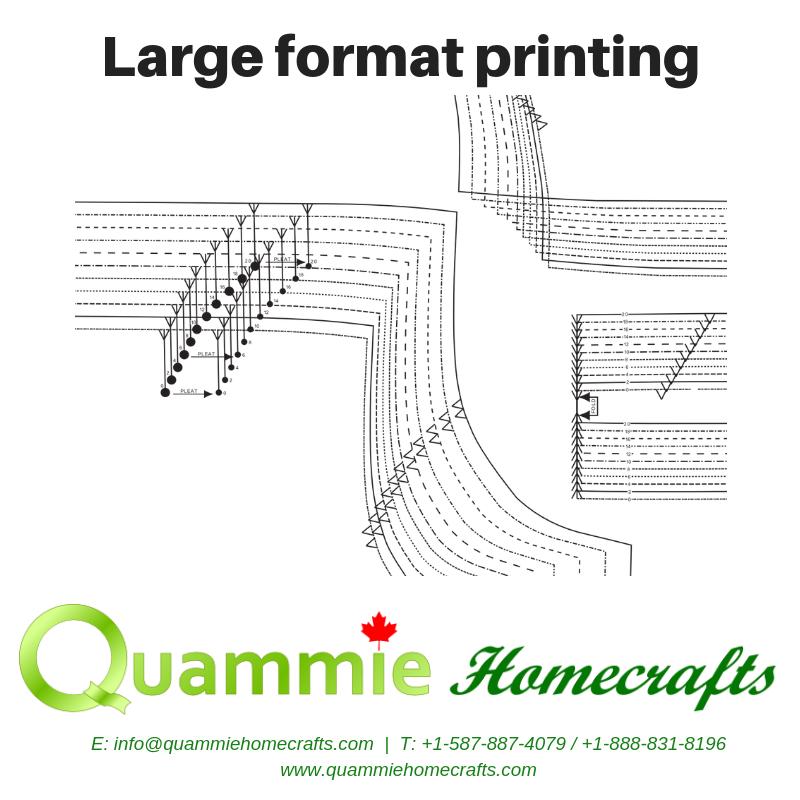 Large format printing - custom quote