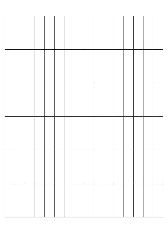"""Printer labels - 1/2 x 1 3/4"""" - 96 per sheet"""