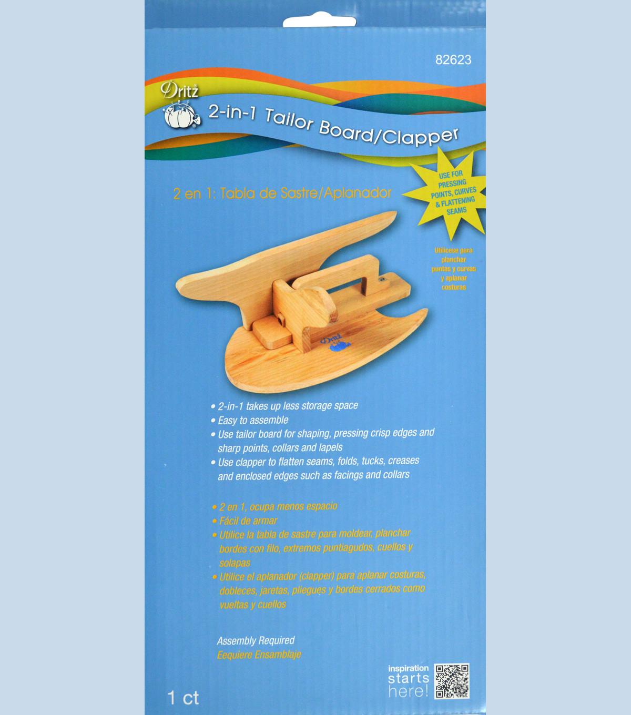 Dritz 2-in-1 Tailor Board / Clapper