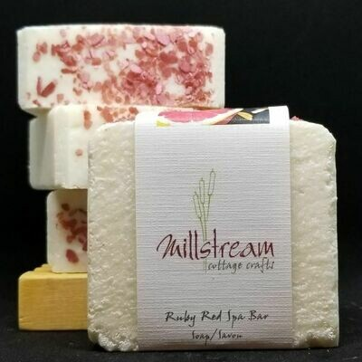 Ruby Red Spa Bar Soap