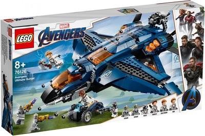 LEGO Super Heroes 76126 Avengers Ultimate Quinjet