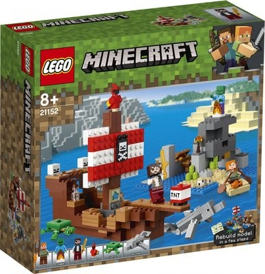 LEGO Minecraft 21152 - The Pirate Ship Adventure