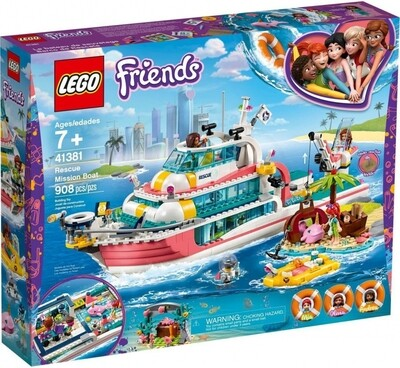 LEGO® Friends 41381 Rescue Mission Boat