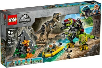 LEGO® Jurassic World 75938 T. rex vs Dino-Mech Battle