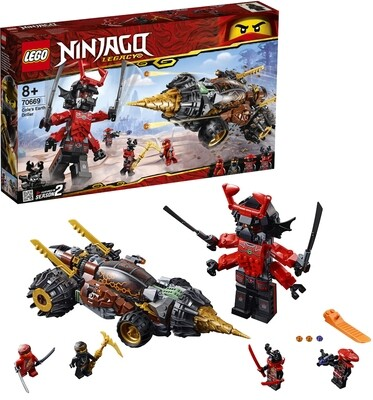 LEGO® Ninjago 70669 Cole's Earth Driller