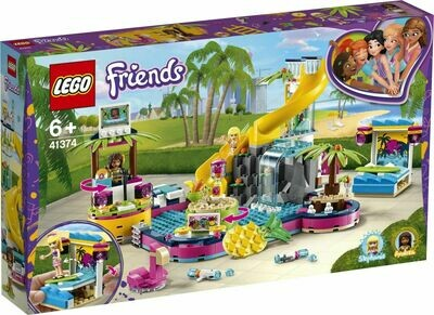 LEGO Friends 41374 - Andrea's Pool Party