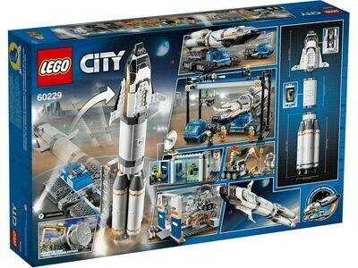 LEGO City 60229 - Rocket Assembly & Transport