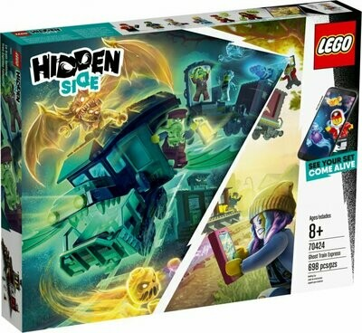 LEGO Hidden Side 70424 - Ghost Train Express