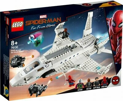 LEGO Super Heroes 76130 Stark Jet and Drone Attack