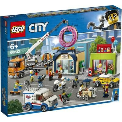 LEGO City Town 60233 Donut Shop Opening